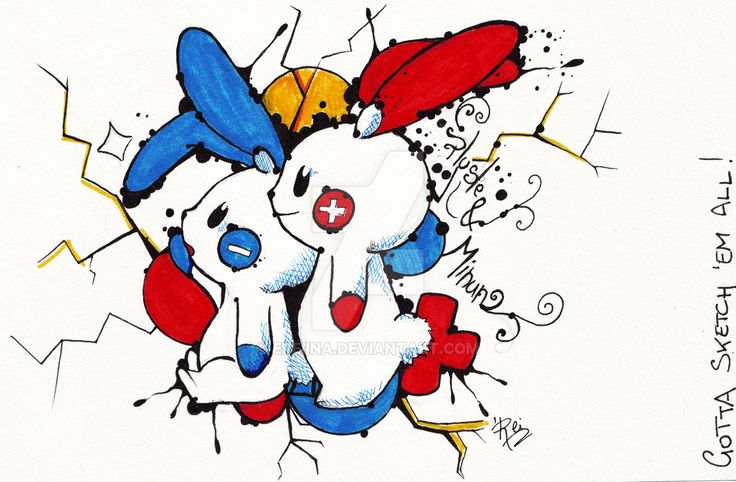 PLUSLE  MINUN - Pokemon by eREIina.deviantart.com on @DeviantArt