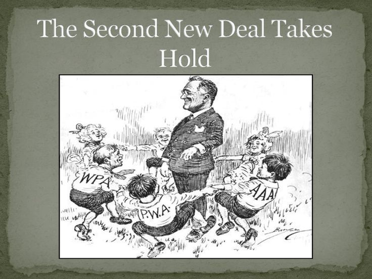 the historic impact of the new deal and the social security act History of the american west to a new deal for the american people it included union protection programs, the social security act.