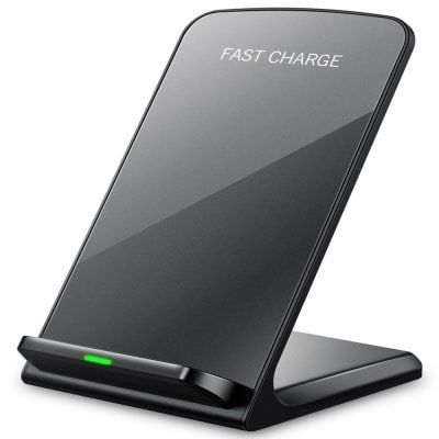 IPhone X Wireless Charger, Fast Wireless Charger Charging Pad(No AC Adapter) for Samsung Galaxy Note 8 S8 S8 Plus S7 S7 - Cargador inalámbrico para #samsung #iphone