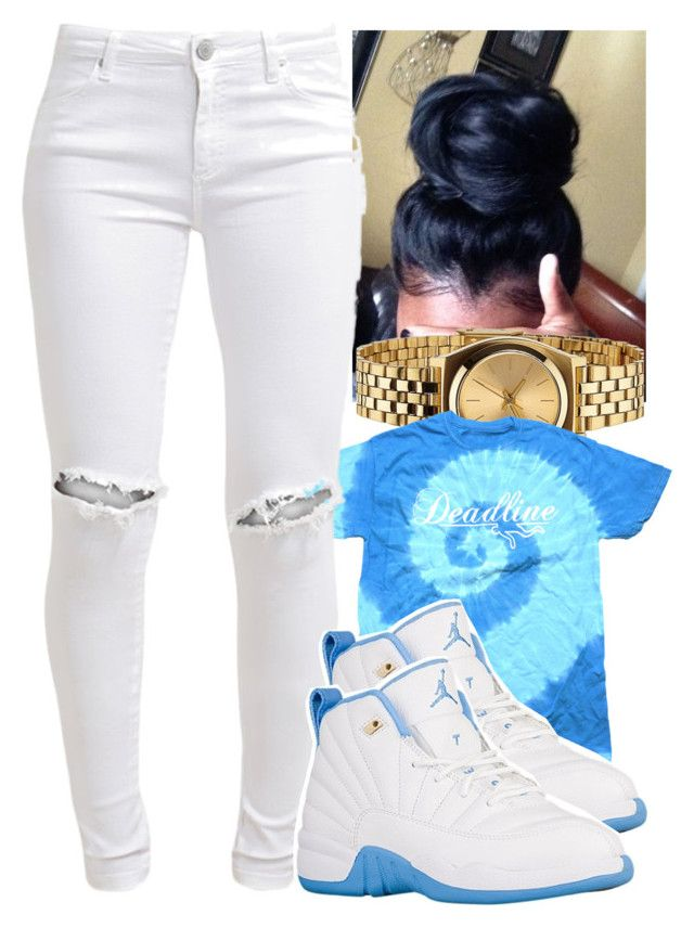 """"""""""" by jawnnsowavyy2 on Polyvore featuring Nixon and FiveUnits"""