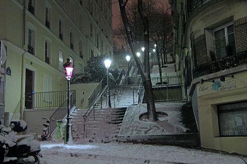 Rue Chappe, Montmartra, January 2013