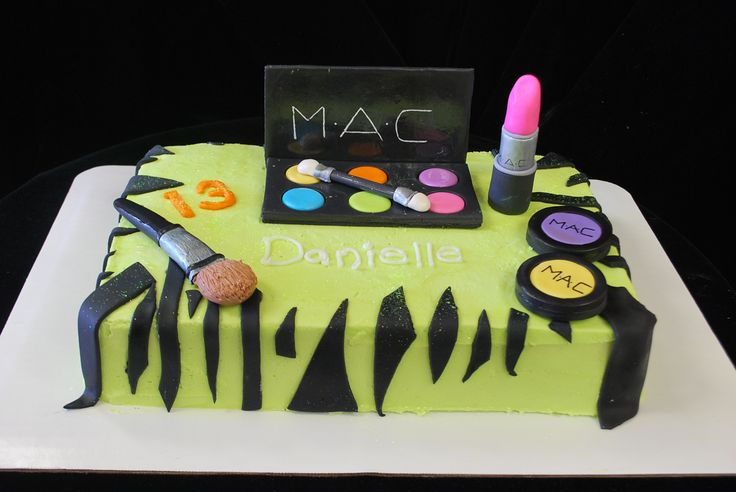 Mac Sheet Cake For 13 Year Old Cakes Pinterest