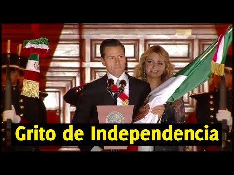 Peña Nieto da el Grito de Independencia 2016 - YouTube