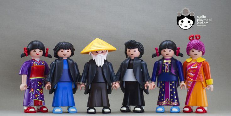 Kimonos and Yukatas Playmobil Custom