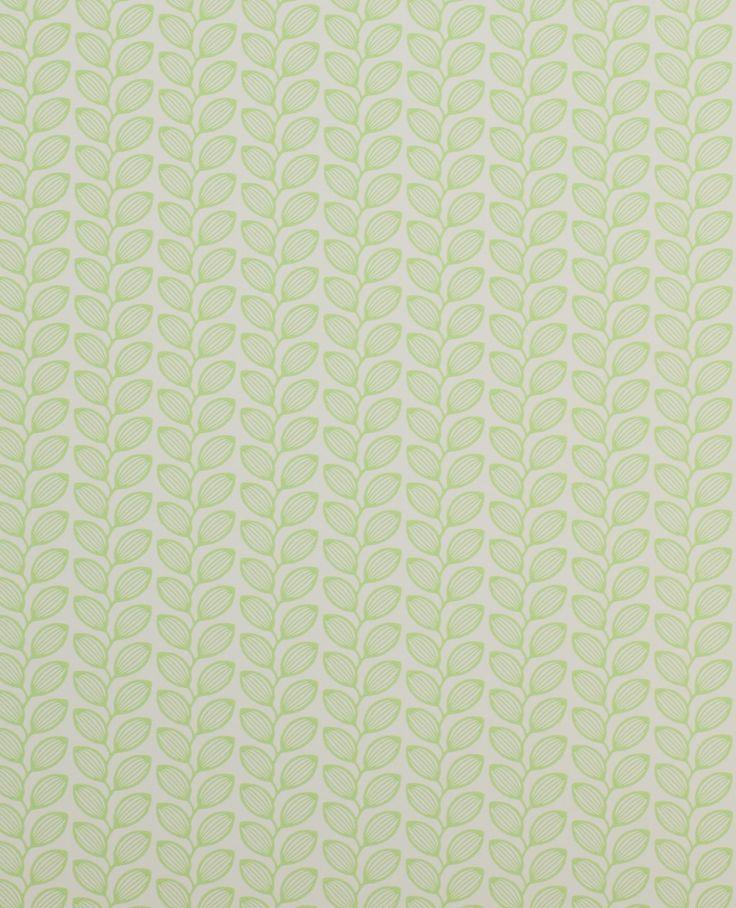 Tapet Retro Leaf Green 588kr/rulle.