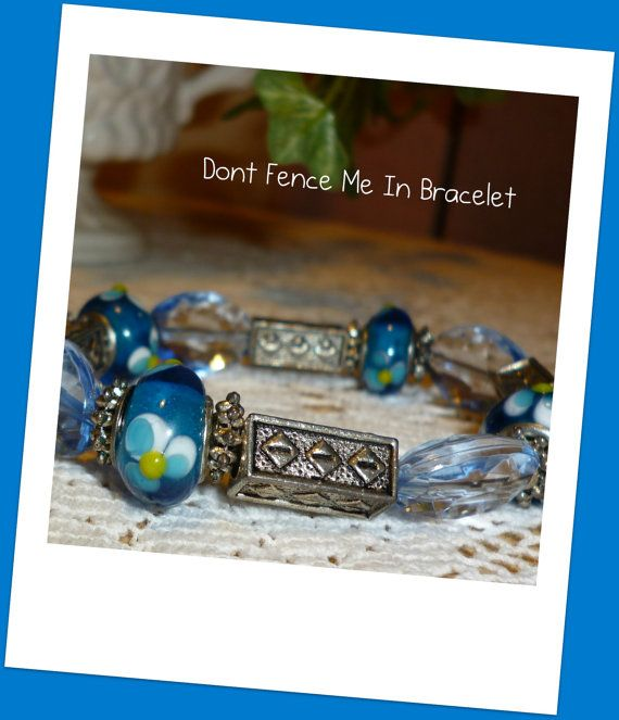 Don't Fence Me In Bracelet by PinkRocksBoutique on Etsy, $8.00