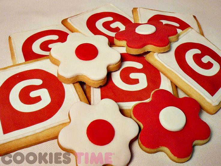 Las galletas para nuestros amigos de Gestiona Radio, ¡gracias por vuestra estupenda entrevista!
