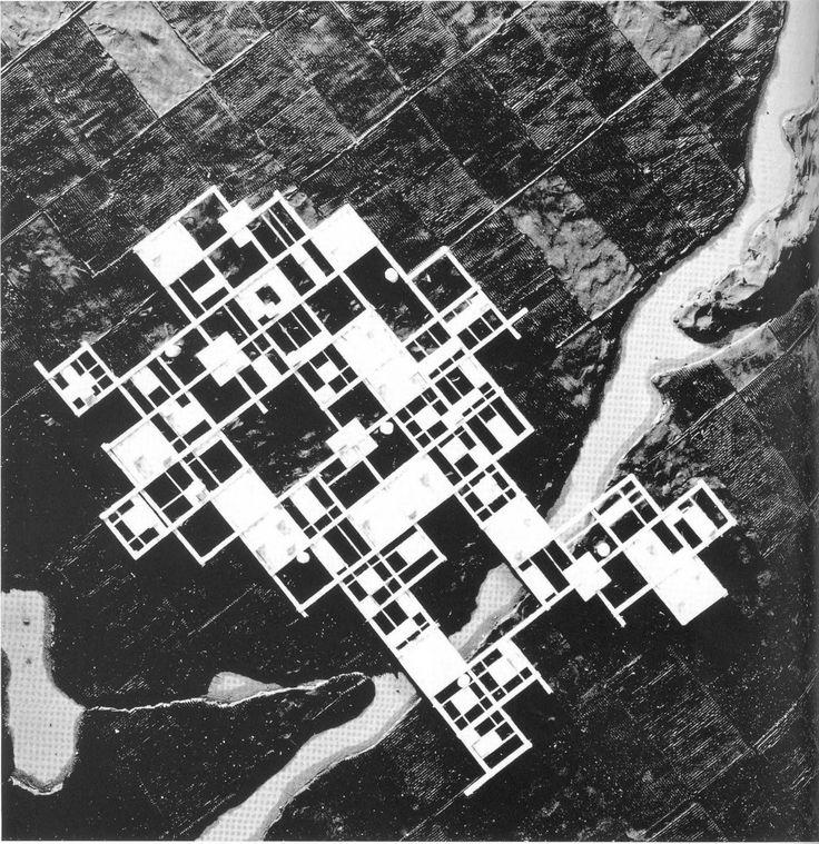 Agricultural City, by Kisho Kurokawa [1960]