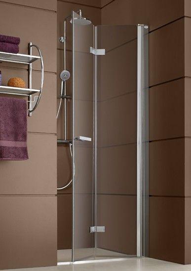 103 best images about salle de bain on pinterest opaline for Paroi douche porte pliante