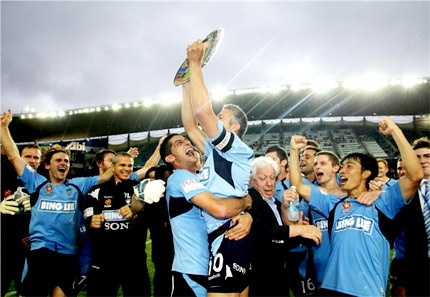 2010 A-League Premiers Sydney FC was at that game!