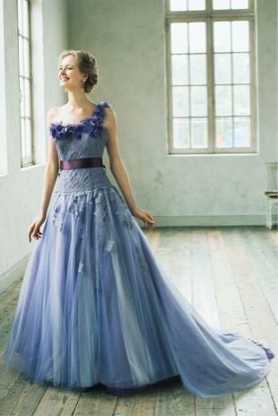 エレガントなパープルのカラードレス♡花嫁衣装の参考一覧まとめ♪