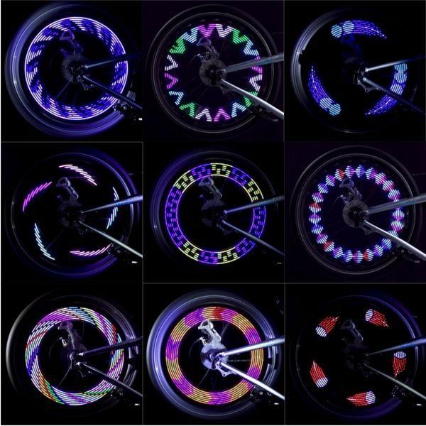 14led 30 Anderungen Rad Reifen Signal Speichen Licht Batterie