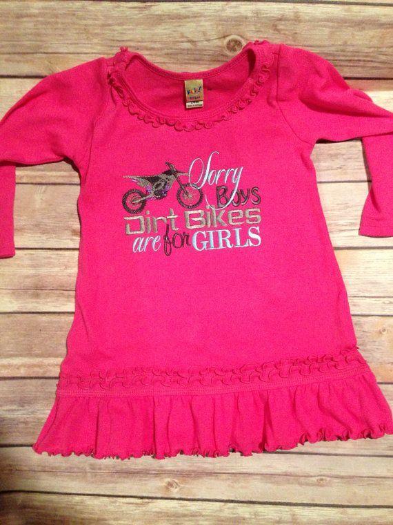 little girls and dirt bikes   Dirt Bikes Are For Girls Dress