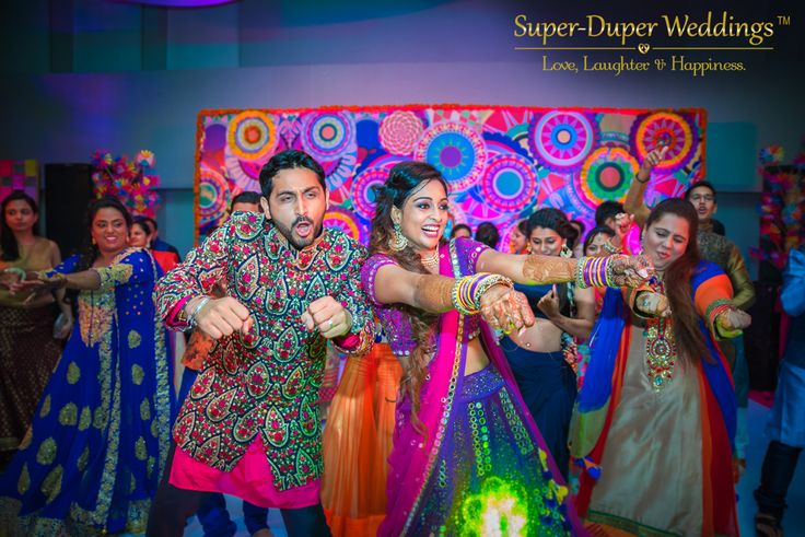 When love is not madness it is not love, Nitu & Mohit is so frame worthy when they are 'in the middle of the dance floor' Super-Duper Weddings transform your wedding into absolute fun blast. Check out their services on the link below... http://www.superduperweddings.com/ #dreamdestination #justengaged #marriage #weddingelements #groom #bride #weddingtrends #indianweddings #brideandgroom #weddingplanning