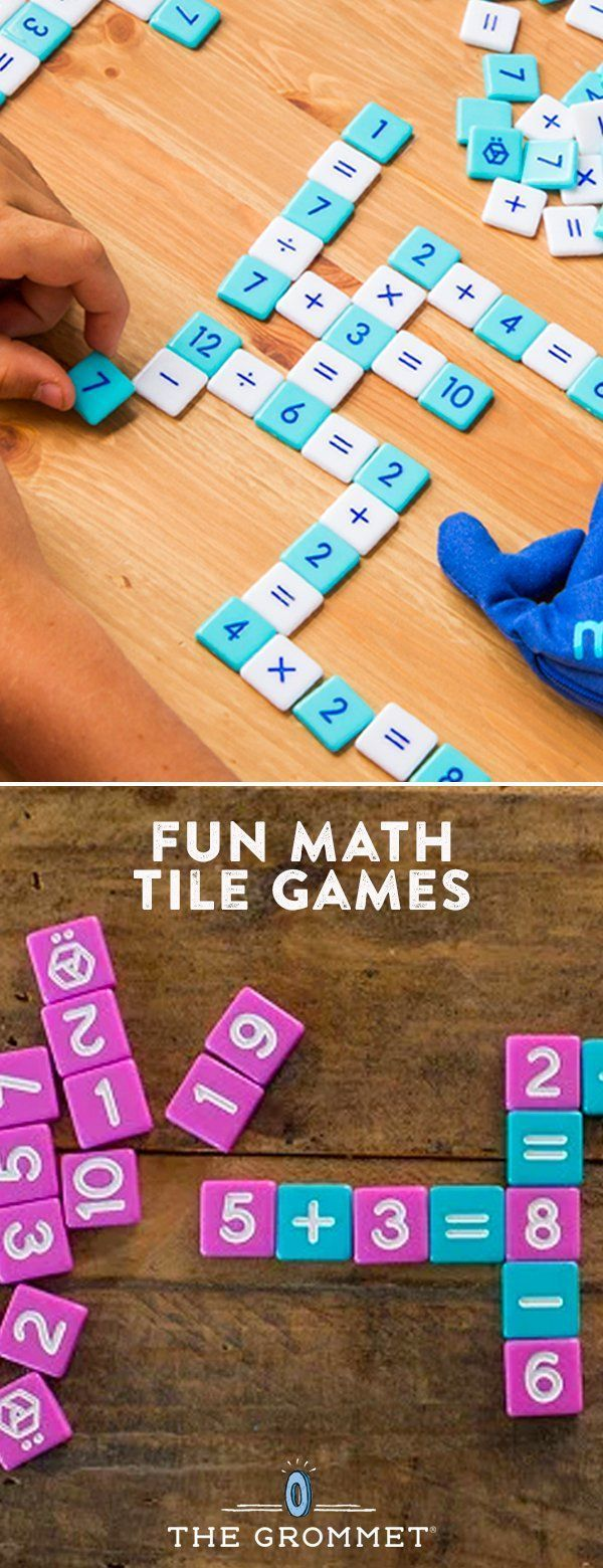 A fun, fast-paced game for kids (or anyone!) to get fluent with basic Math. Simple to learn, and easy to play anywhere. A great family game. #mathforchildren