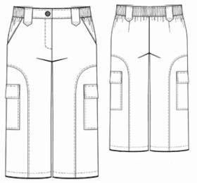 Мужские штаны большого размера выкройка