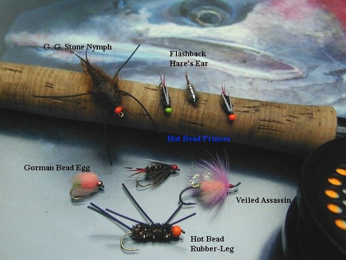 Steelhead nymphs steelhead fly fishing flies for Fly fishing nymphs