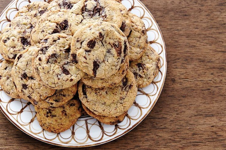 Joy the Baker's Pistachio and Dark Chocolate cookie recipe