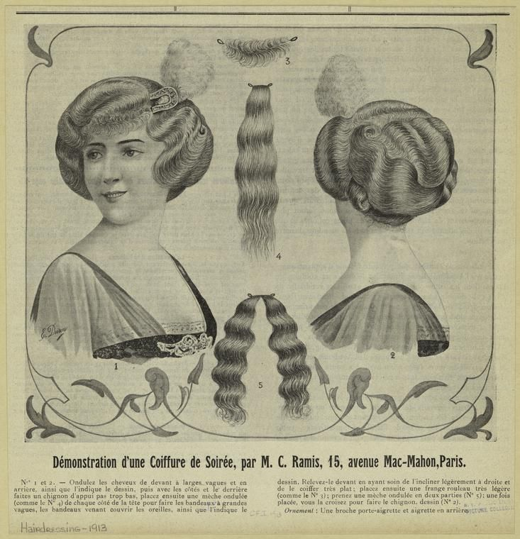 218 best images about historical hair 1900 1929 on pinterest. Black Bedroom Furniture Sets. Home Design Ideas