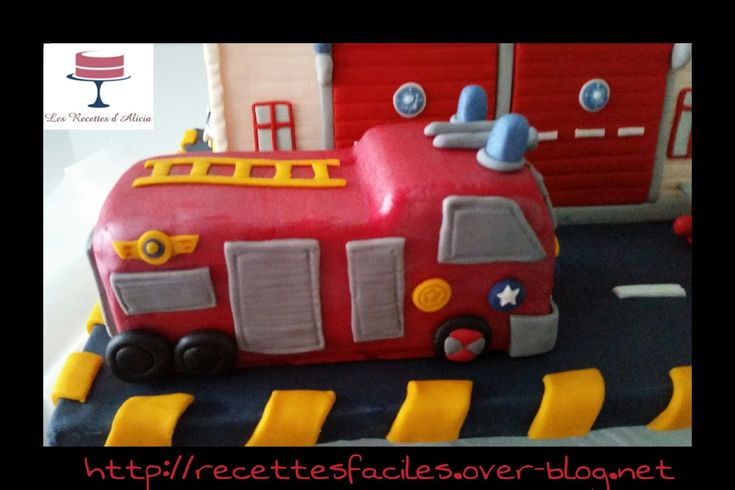 1000 images about tuto pate a sucre on pinterest - Gateau anniversaire sam le pompier ...