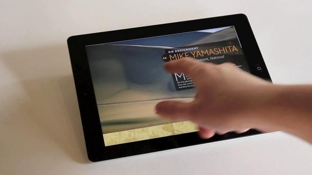 Interactive Photography magazine for iPad