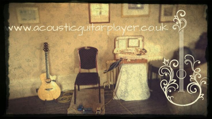 Set up in Aldwark Manor  Www.acousticguitarplayer.co.uk