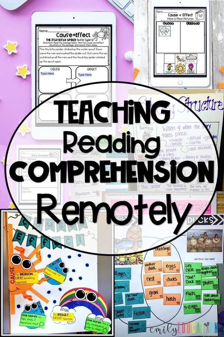 Distance Learning With Reading Comprehension Teaching Reading Comprehension Teaching Comprehension Reading Comprehension Fun reading activities for online