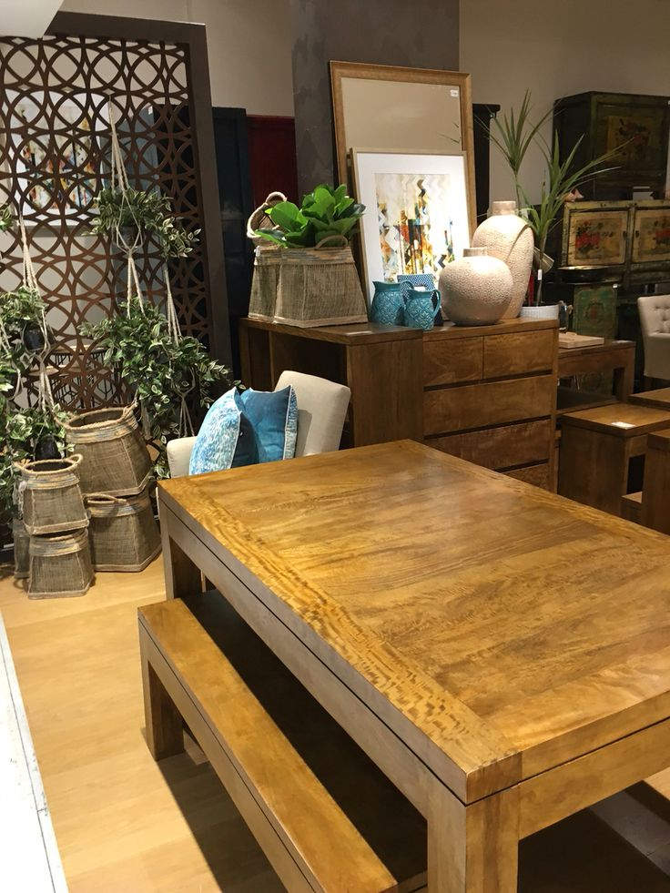 Our popular New York table and bench set available in store. Buy together and save. Enquire today at http://www.shack.com.au/contact-us