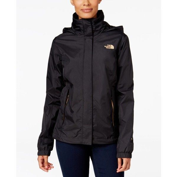 The North Face Resolve Waterproof Jacket ($90) ❤ liked on Polyvore featuring the north face