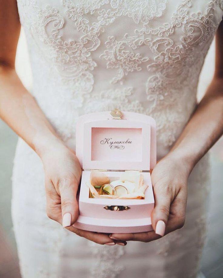 Шкатулки для свадебных колец