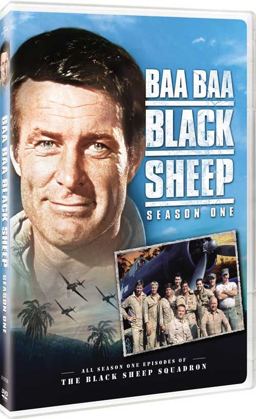 Baa Baa Black Sheep (AKA Black Sheep Squadron) - Robert Conrad Stars in a Complete 'Season 1' DVD Set! Available June 13, 2017.