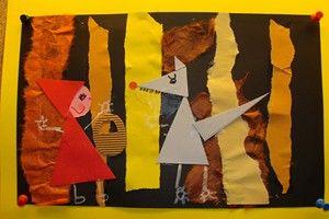 ECOLE PRIMAIRE DE VAULX - les oeuvres d'art de novembre
