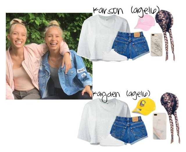 """""""Karson & Kayden // 6-1-17 // NBA Finals + Filming ✨💙💛"""" by dream-familiess ❤ liked on Polyvore featuring Puma, adidas Originals, '47 Brand, New Era and TheLancasterFamily"""