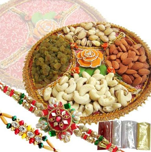 Send Rakhi with Dryfruits to USA For Dear Brother