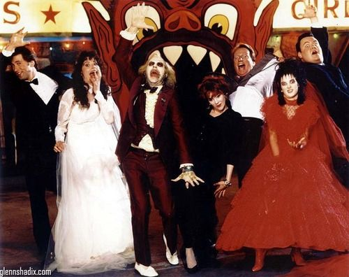Beetlejuice cast being silly