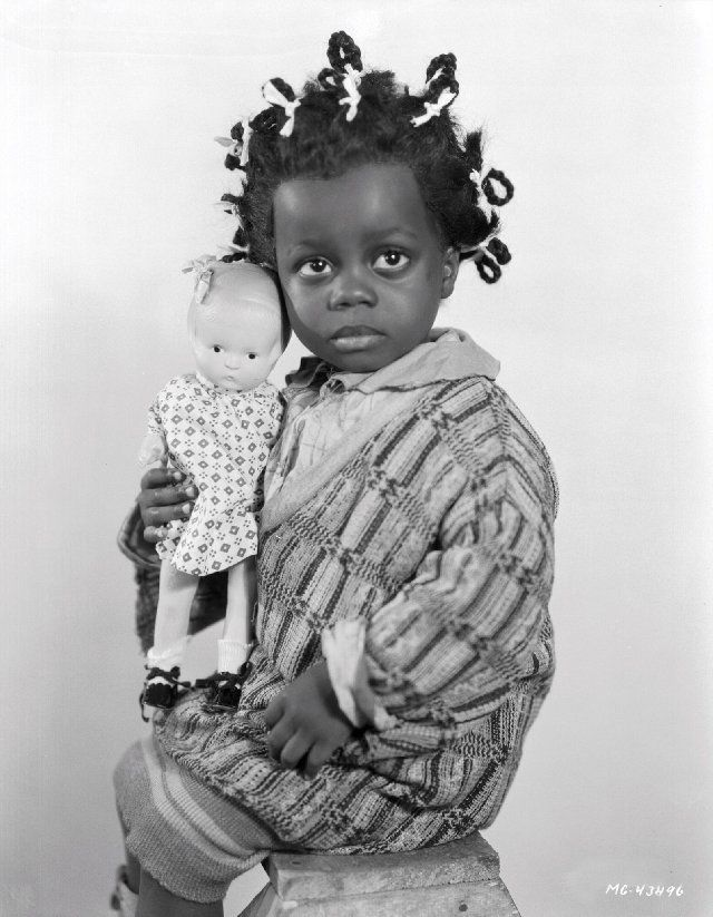 "Billie ""Buckwheat"" Thomas (The Little Rascals) beautiful pic but oh so wrong!!!"