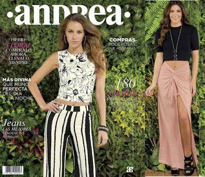 Catalogo de Ropa Andrea Primavera 2016. Hojea múltiples outfits de vestir para mujer. #ropamujer #ropaandrea #Andrea2016