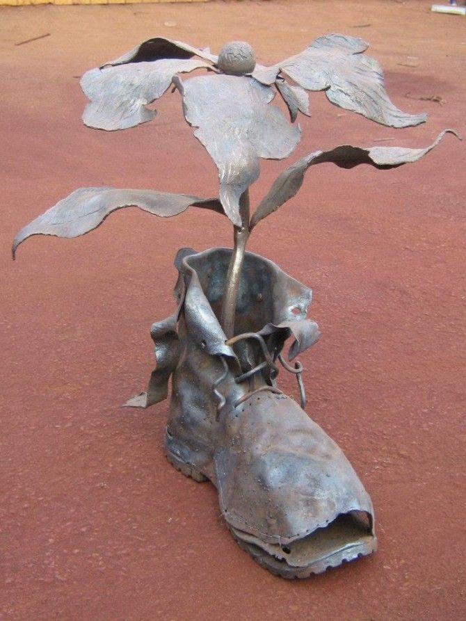 Кованая скульптура №27 * Wrought iron sculpture www.ArtSklad.net