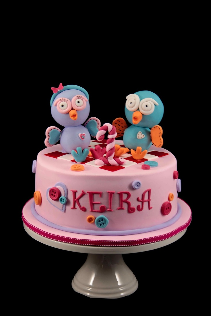Bakerz Dad: Hoot and Hootabelle Cake