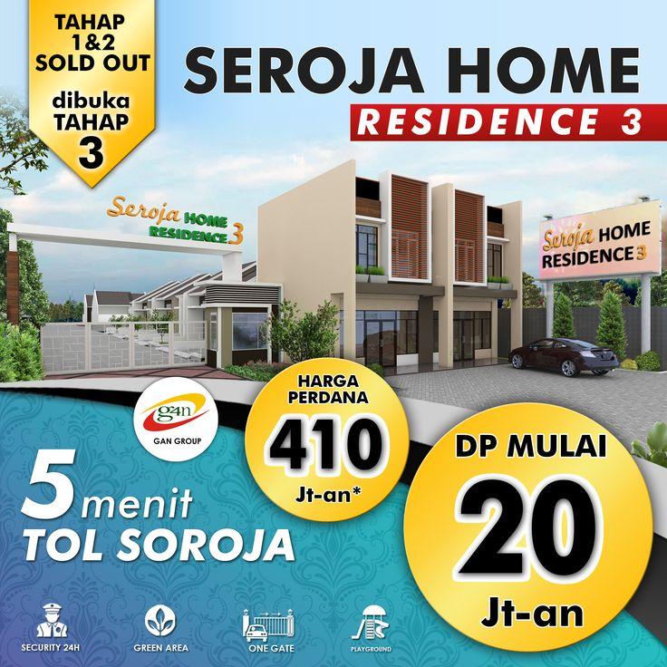 Ayo sebelum kehabisan! New Project Seroja Home 3! DP Mulai 20 Jutaan!* Cicilan Mulai 410 Jutaan!* UNIT SANGAT TERBATAS! Jangan kehabisan sebelum HARGA NAIK! Info Cek Hub WA 0812 3238 5000 atau www.ganproperti.com  #house #rumahnyaman #properti #perumahan #property #realestatelife #realestate #rumah #rumahminimalis #rumahku #rumahbandung #perumahanbandung #25lokasi #landed #housing #ganproperti #lokasistrategis #rumahbaru #rumahbaruku #houseoftheday #home #forsale #homestyle #houzz #terbaru