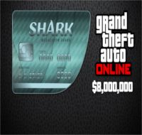 Reward: Grand Theft Auto V Megalodon Shark Cash Card $8,000,000 EvoBay