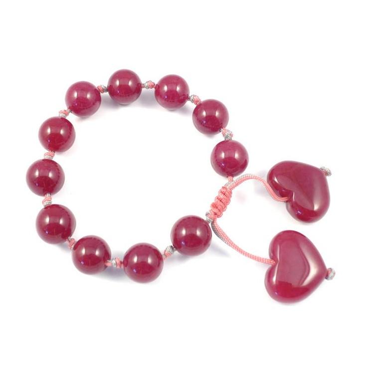 Lola Rose Tana Red Plum Quartzite Bracelet £28