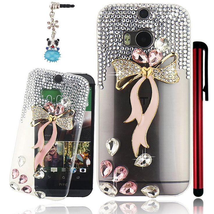 M8 Case, Htc M8 Case - Mavis\u0026#39;s Diary 3D Handmade Bling Crystal ...