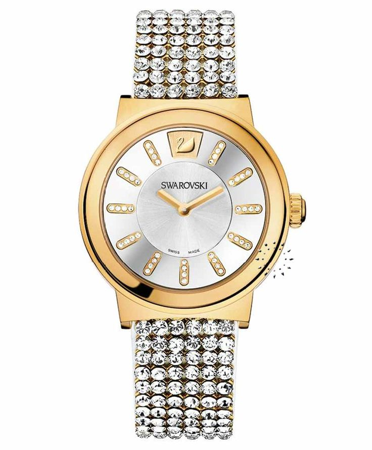 SWAROVSKI Piazza Gold Crystal Mesh Τιμή: 579€ Τιμή Προσφοράς: 463€ http://www.oroloi.gr/product_info.php?products_id=34401