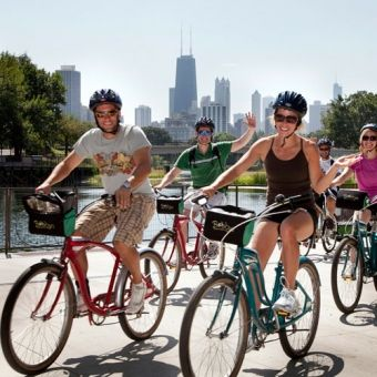 Chicago Bike, Food and Beer Tour