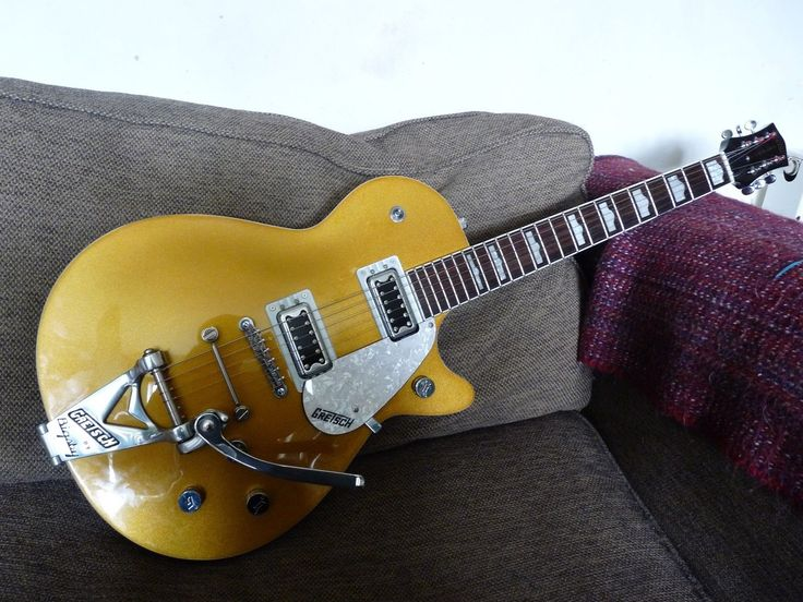 Gretsch Pro Jet fitted with duojet Bigsby B3C includes Gretsch case