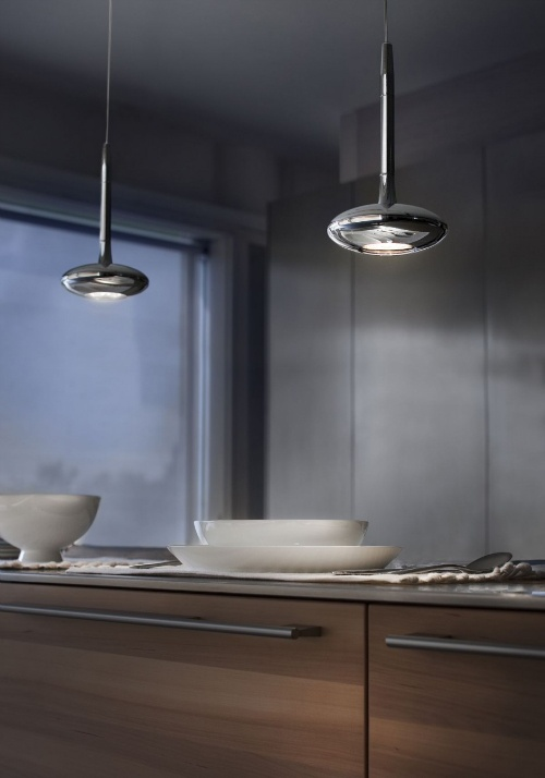 LED lighting solutions created by Paolo De Lucchi for Lucente. called the Kalypso