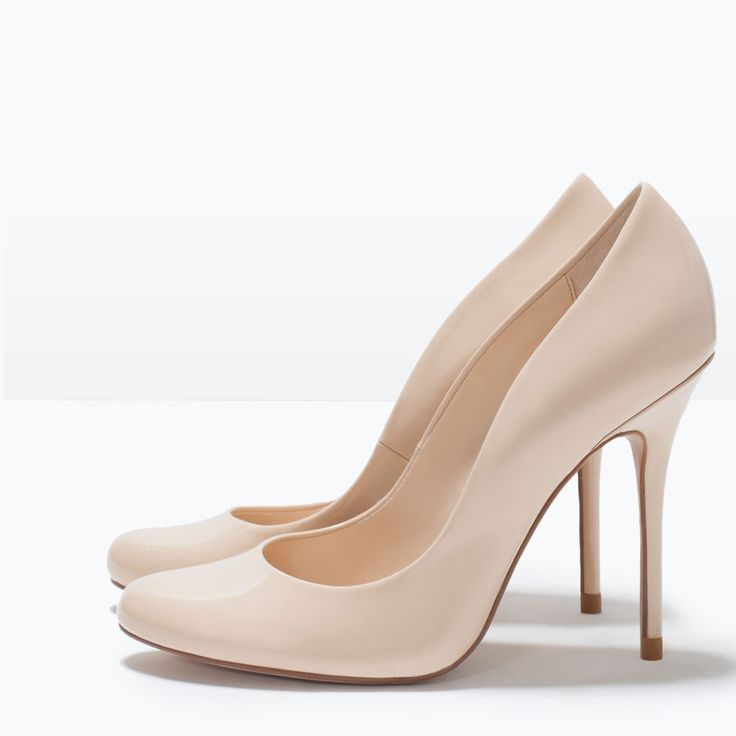 FAUX PATENT LEATHER HIGH HEEL COURT SHOE-Shoes-Woman-SHOES & BAGS | ZARA United States