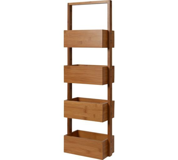 Buy Collection Freestanding Bathroom Storage Caddy - Bamboo at Argos.co.uk, visit Argos.co.uk to shop online for null