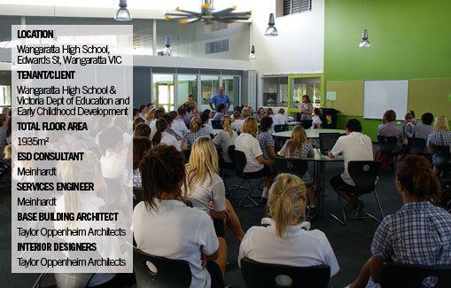 Wangaratta High School #greenbuilding #greenstar #greenschool